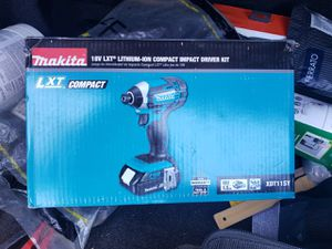 New Makita 18 vlt for Sale in Anaheim, CA