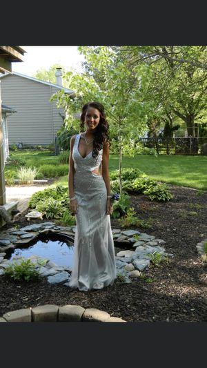 Silver prom dress for Sale in Ellisville, MO