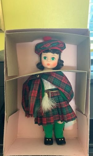 """Madame Alexander doll """"Scotland"""" 596 for Sale in Maple Valley, WA"""