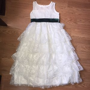 Flower girl lace dress for Sale in Lake Elsinore, CA