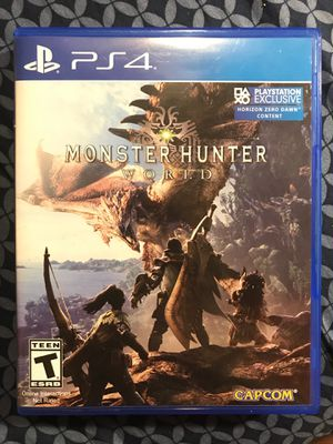 Monster Hunter World PS4 for Sale in Milton, PA