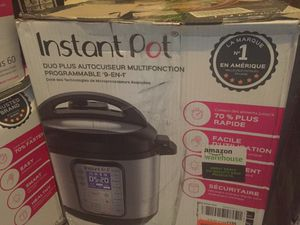 Instant pot duo plus 9 en 1 for Sale in Raleigh, NC