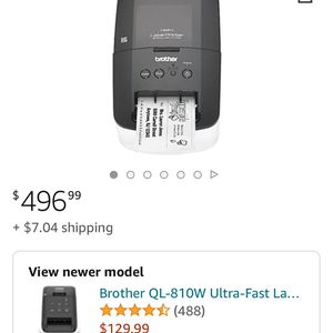 Brother Label Printer for Sale in Long Beach, CA