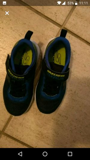 Toddler skecher shoes size 11 for Sale in Houston, TX