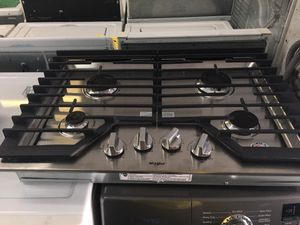 Whirlpool counter gas stove-30 days warranty for Sale in Orlando, FL