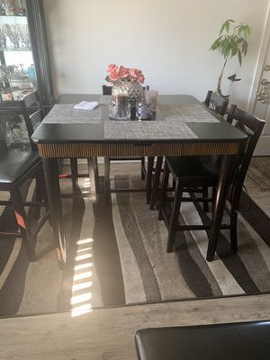 Bar Height Dinner Table seats 6 for Sale in Des Moines, WA