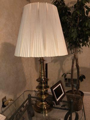 Lamp with sculptural base for Sale in Lumberton, NJ