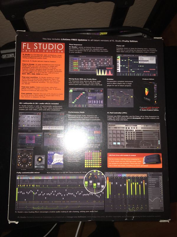 FL Studio 12 Fruity Edition for Sale in Bloomington, CA - OfferUp
