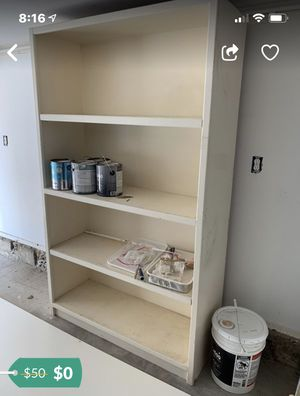 Free solid wood book shelves or garage storage for Sale in Laguna Beach, CA
