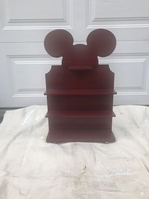 Lenox Walt Disney Showcase Mickey Mouse Wooden Shelf for Sale in Warwick, PA