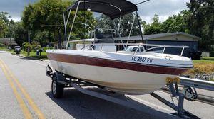 1989 bonito 19.6 hull and trailer for Sale in Orlando, FL