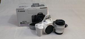 Canon Rebel SL3 w/ 18-55ml lense for Sale in Pico Rivera, CA
