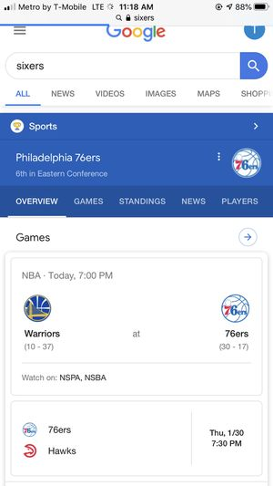 Sixers tickets for sale for Sale in Philadelphia, PA