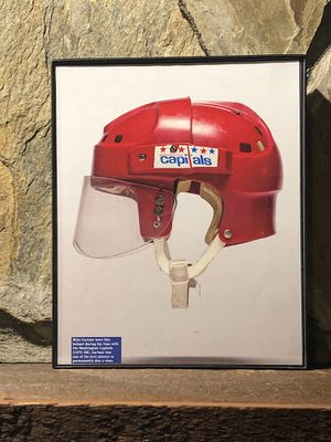 """Page from the Past : Picture of 1978-1979 Washington Capitols Helmet In """"8x10"""" glass frame. for Sale in Snellville, GA"""