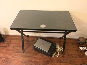 Glass desk for Sale in Palmdale, CA