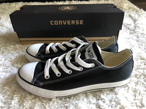 Chuck Taylor All Star Converse (Black) - Size 2 for Sale in Tampa, FL