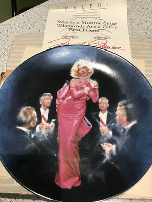 Marilyn Monroe Collector Plates for Sale in New City, NY