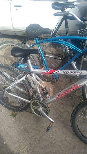 "Mountain bike 24"" Vertical XG 9000,total chrome finish,no paint,rides perfectly. for Sale in Roseville, MI"