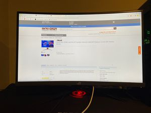 """ASUS ROG STRIX XG27VQ 27"""" 144hz CURVED MONITOR for Sale in Powell, OH"""