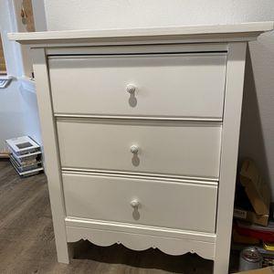 White Dresser Nightstand for Sale in Gresham, OR