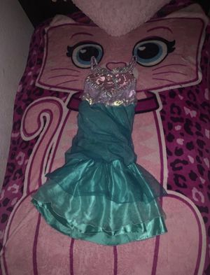 Disney Store Little Mermaid Costume 🧜♀️ Size Small 5/6T AS IS 💕😍 for Sale in Bloomington, CA