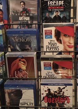 4K+Blu-Ray+Digital Movies 'NEW' Never Opened! for Sale in Clovis,  CA