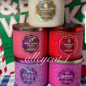 BATH AND BODY WORKS 3 WICK CANDLES for Sale in El Mirage, AZ