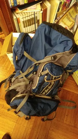 Vintage Jansport tall Hiking Duffle Backpack Very Large, USA for Sale in Brooklyn, NY