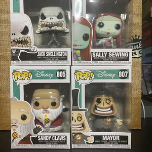Funko Pop! Nightmare before Christmas Bundle for Sale in La Puente, CA