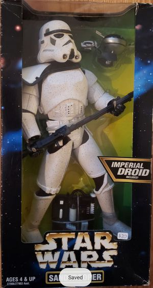 New Star Wars 12 Inch Sandtrooper Figure. (Imperial Droid Included) for Sale in Apopka, FL