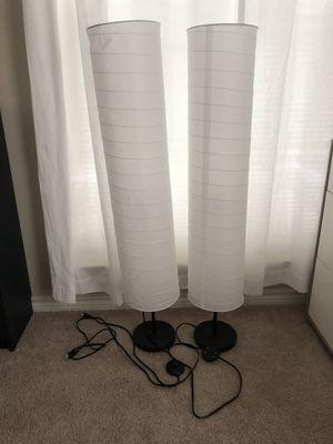 2 ikea lamps for Sale in McLean, VA