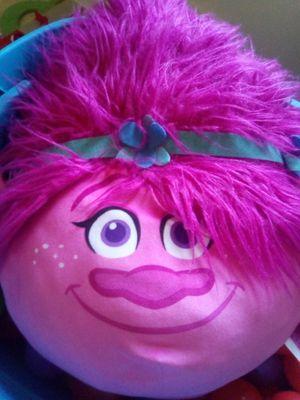 Trolls head pillow for Sale in San Antonio, TX