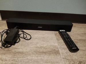 Bose solo 5 Sound Bar with bluetooth connection for Sale in Orange, TX