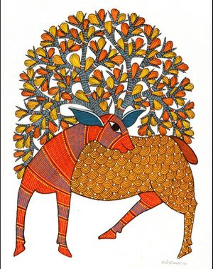 Beautiful Gift, Indian folk art paintings, New, for Sale in Chicago, IL