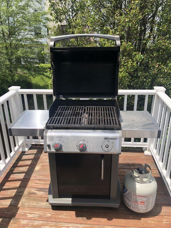 Weber grill 3-burner FREE