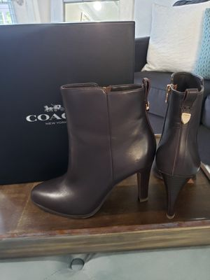 Coach Ankle Boots size 8.5W for Sale in Stonecrest, GA