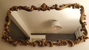 Antique Gold large mirror for Sale in Los Angeles, CA