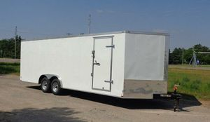 ENCLOSED TRAILERS ALL SIZES 20FT 24FT 28FT 32FT IN STOCK FREE DELIVERY for Sale in Ripon, CA