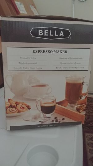 Espresso coffee maker with cappuccino for Sale in Cockeysville, MD