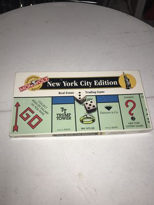 Monopoly New York City Edition for Sale in Miami, FL