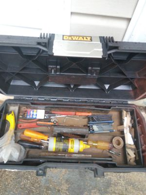 Nice tool box with a few tools for Sale in Charlotte, NC