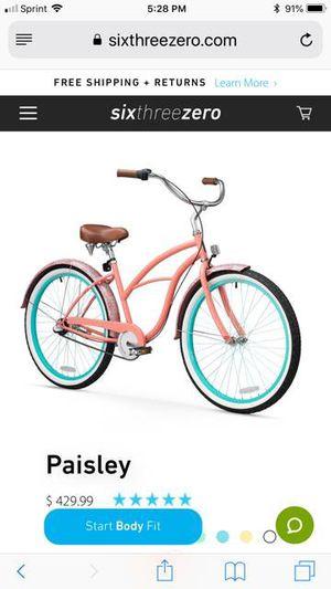 Women's Bicycle Paisley Cruiser 3 speed - Like brand new Sixthreezero for Sale in Vienna, VA
