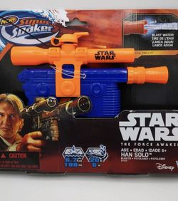 Nerf Star Wars Han Solo Supersoaker Blaster for Sale in Pawtucket,  RI