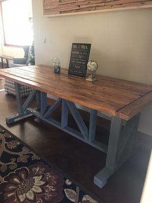 Outdoor/indoor farmhouse table for Sale in Escondido, CA