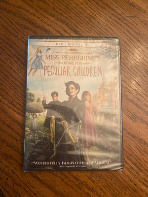 Miss Peregrines Home for Peculiar Children DVD - Brand New for Sale in Aliquippa, PA