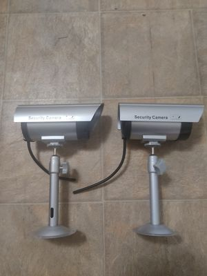 Dummy Security Camera for sale (Set of 2) for Sale in Los Angeles, CA