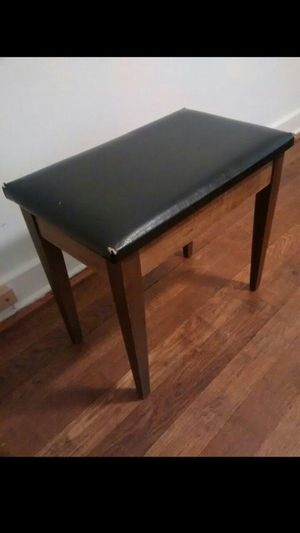 Vintage Wood Bench/Ottoman for Sale in Locust Valley, NY