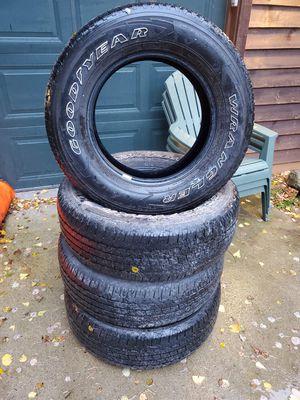 Goodyear wrangler tires for Sale in Minocqua, WI