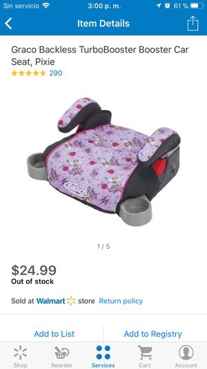 Turbo booster seat new for Sale in Las Vegas, NV