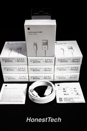 (10) 6 Foot iPhone Charger Family Pack for Sale in Hampton, VA